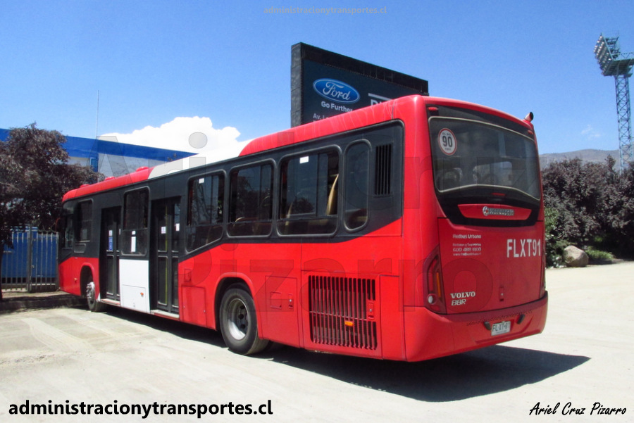 Transantiago | Marcopolo Torino - Volvo B8R LE (Euro 6)